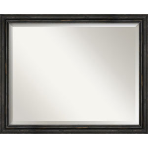 Black 31-Inch Bathroom Wall Mirror
