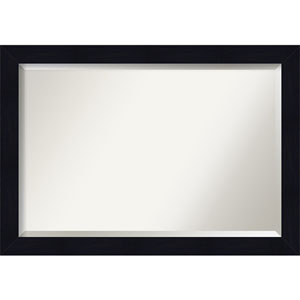 Shiplap Blue 40-Inch Bathroom Wall Mirror
