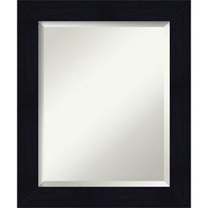 Shiplap Blue 20-Inch Bathroom Wall Mirror