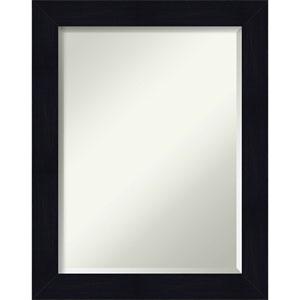 Shiplap Blue 22-Inch Bathroom Wall Mirror