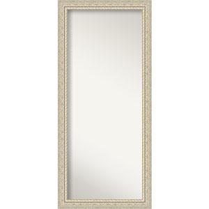 Fair Baroque Cream 30-Inch Floor Mirror