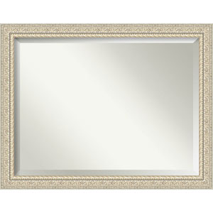 Fair Baroque Cream 46-Inch Bathroom Wall Mirror