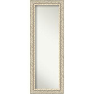Fair Baroque Cream 20-Inch Full Length Mirror