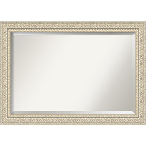 Fair Baroque Cream 42-Inch Bathroom Wall Mirror