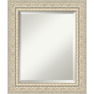 Fair Baroque Cream 22-Inch Bathroom Wall Mirror