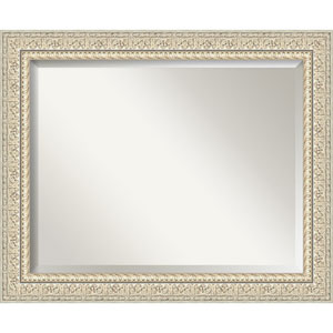 Fair Baroque Cream 34-Inch Bathroom Wall Mirror