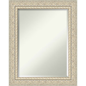 Fair Baroque Cream 24-Inch Wall Mirror