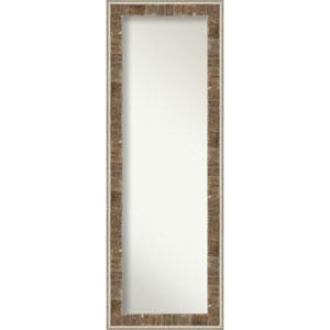 Farmhouse Brown 19-Inch Full Length Mirror
