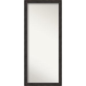 Allure Charcoal 28-Inch Floor Mirror