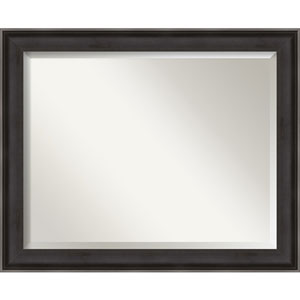 Allure Charcoal 32-Inch Bathroom Wall Mirror