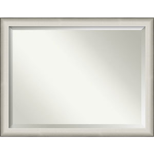 Allure White 45-Inch Wall Mirror