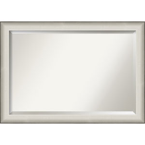 Allure White 41-Inch Bathroom Wall Mirror