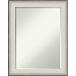 Allure White 23-Inch Wall Mirror