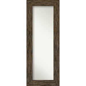 Fencepost Brown 21-Inch Full Length Mirror