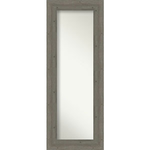 Fencepost Gray 21-Inch Full Length Mirror