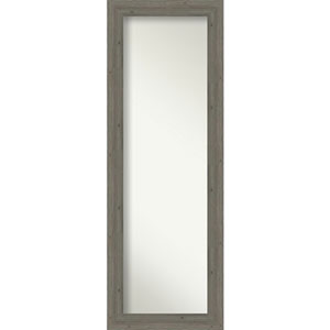 Fencepost Gray 19-Inch Full Length Mirror