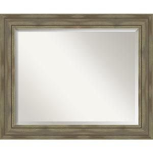 Alexandria Graywash 34-Inch Wall Mirror