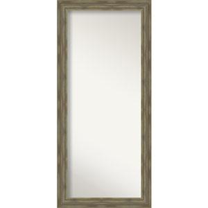 Alexandria Graywash 30-Inch Floor Mirror