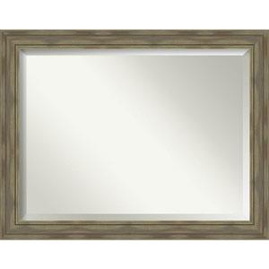 Alexandria Graywash 46-Inch Bathroom Wall Mirror