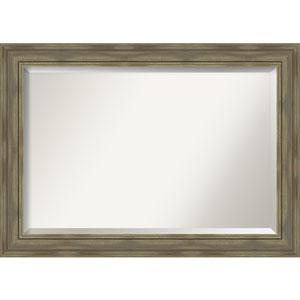 Alexandria Graywash 42-Inch Bathroom Wall Mirror