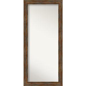 Alexandria Rustic Brown 30-Inch Floor Mirror