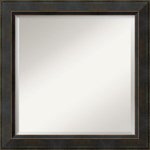 Signore Bronze 24-Inch Bathroom Wall Mirror