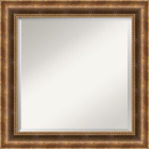 Bronze 25-Inch Bathroom Wall Mirror