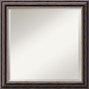 Tuscan Black 24-Inch Bathroom Wall Mirror