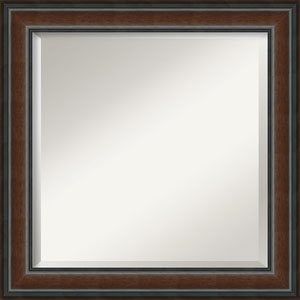 Cyprus Brown 25-Inch Bathroom Wall Mirror