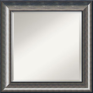 Quicksilver Silver 26-Inch Bathroom Wall Mirror