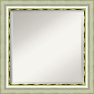 Vegas Silver 25-Inch Bathroom Wall Mirror