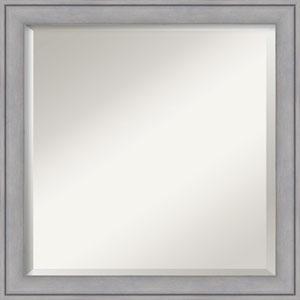 Gray 23-Inch Bathroom Wall Mirror