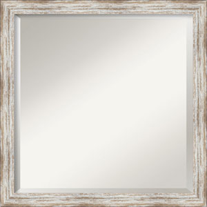 White 23-Inch Bathroom Wall Mirror