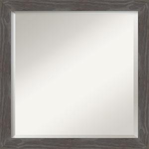 Woodridge Gray 23-Inch Bathroom Wall Mirror