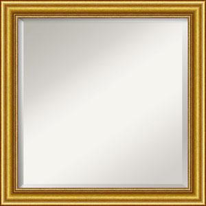 Gold 24-Inch Bathroom Wall Mirror