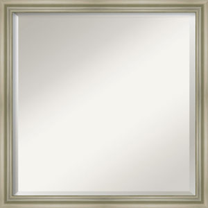 Silver 22-Inch Bathroom Wall Mirror