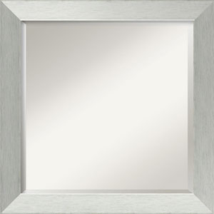 Silver 24-Inch Bathroom Wall Mirror