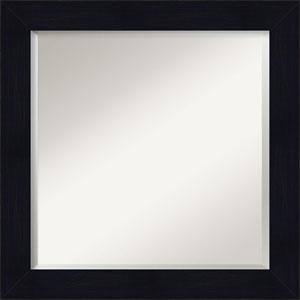 Shiplap Blue 24-Inch Bathroom Wall Mirror