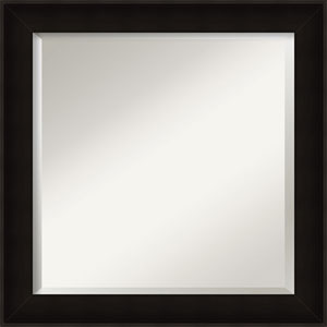 Manteaux Black 24-Inch Bathroom Wall Mirror