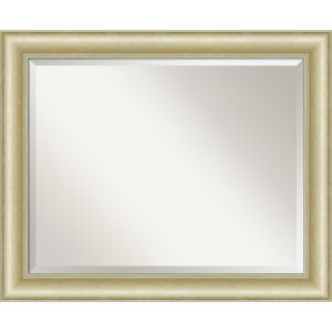 Gold 33W X 27H-Inch Bathroom Vanity Wall Mirror