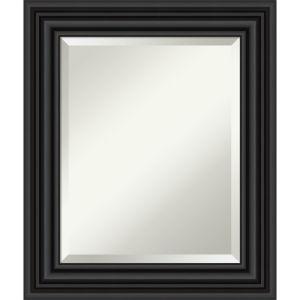 Colonial Black 22W X 26H-Inch Bathroom Vanity Wall Mirror