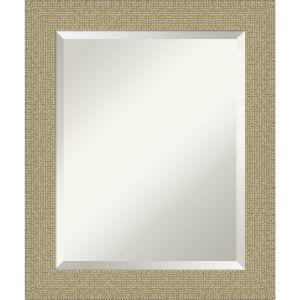Mosaic Gold 20W X 24H-Inch Bathroom Vanity Wall Mirror