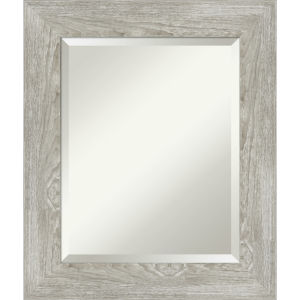 Dove Gray 22W X 26H-Inch Bathroom Vanity Wall Mirror