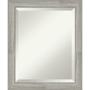 Dove Gray 20W X 24H-Inch Bathroom Vanity Wall Mirror