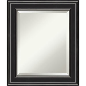 Ridge Black 22W X 26H-Inch Bathroom Vanity Wall Mirror
