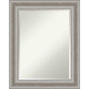 Parlor Silver 24W X 30H-Inch Bathroom Vanity Wall Mirror