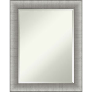 Elegant Pewter 23W X 29H-Inch Bathroom Vanity Wall Mirror