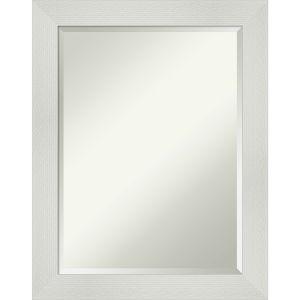 Mosaic White 22W X 28H-Inch Bathroom Vanity Wall Mirror