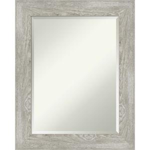 Dove Gray 24W X 30H-Inch Bathroom Vanity Wall Mirror