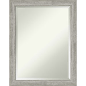 Dove Gray 22W X 28H-Inch Bathroom Vanity Wall Mirror